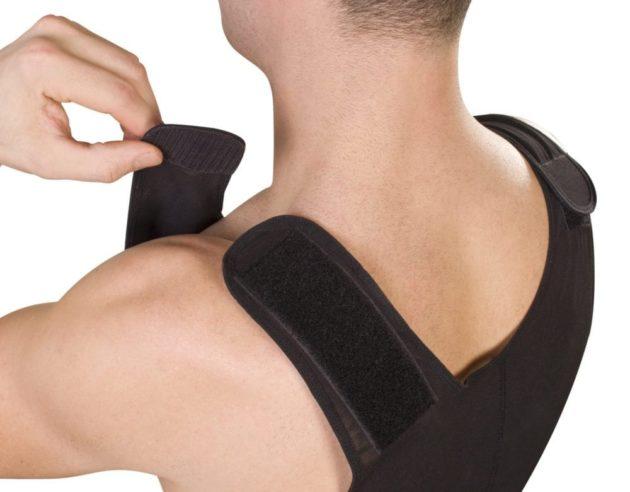 ClearPoint Medical Men's Black Sleeveless Compression Bodysuit