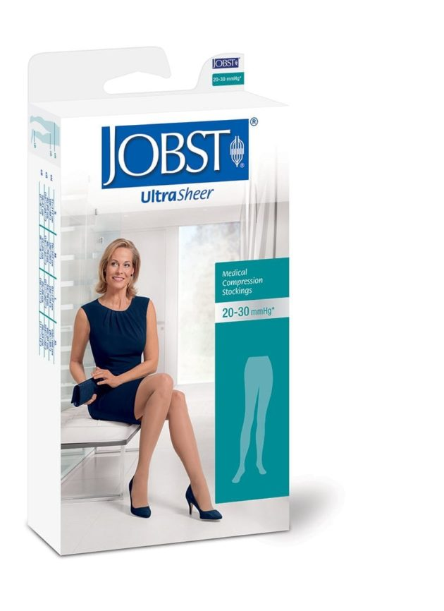 JOBST® Ultrasheer Pantyhose medical graduated compression stockings for various veins