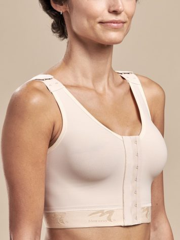 Marena FlexiFit™ Original Post Operation Bra B01G is designed for complete adjustability and post surgical comfort following breast augmentation, reduction, and other aesthetic breast procedures for women.