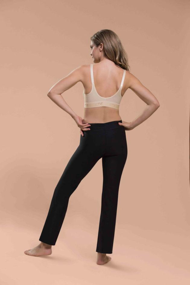 Marena FlexiFit™ Ultra Low Zip Front Bra Back