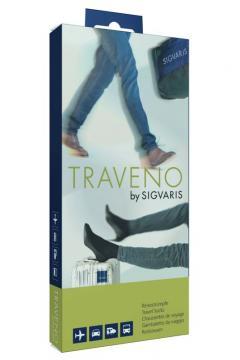 Sigvaris Traveno Unisex Travel Socks for your next journey