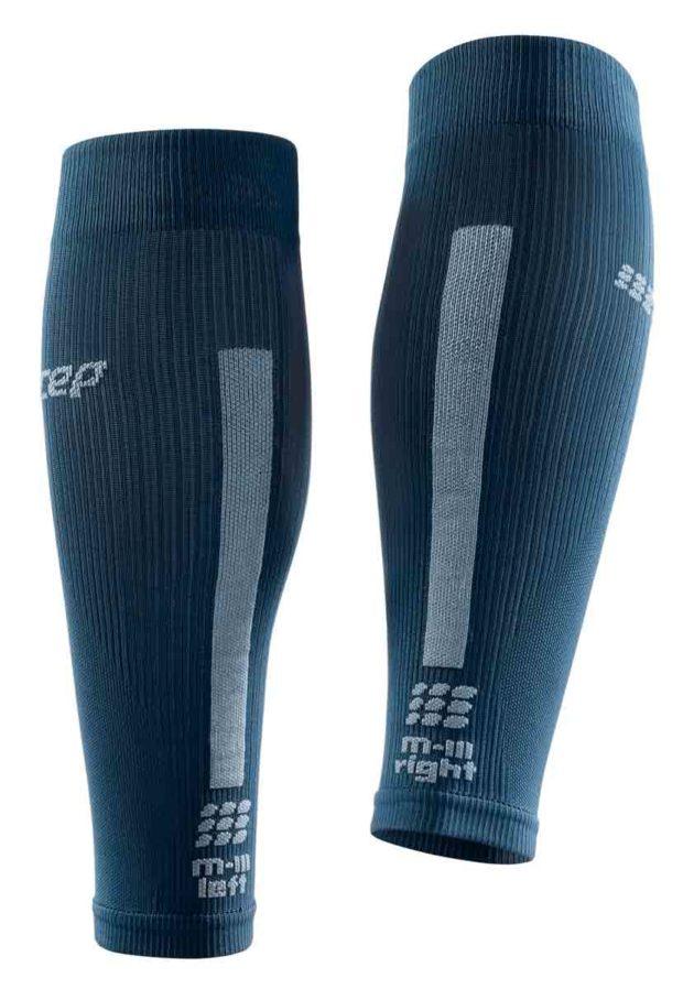 CEP Compression Calf Sleeves Blue Grey