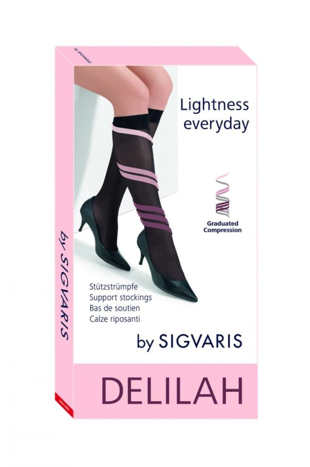 Sigvaris Delilah Sheer Compression Socks
