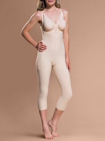 Marena Capri-Length Bodysuit with Suspenders (FBM)