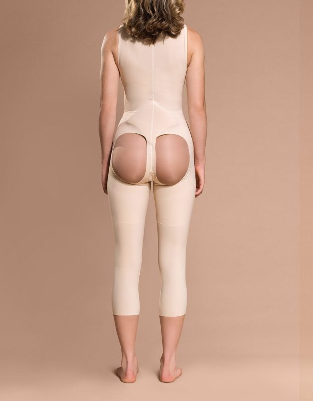 Marena Open Buttock Capri Length Girdle (FBOM)