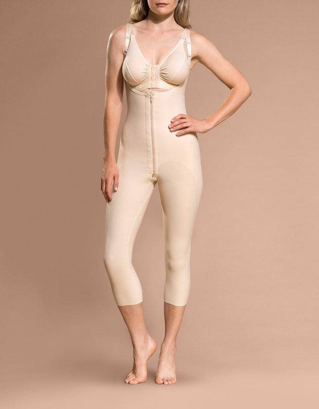 Marena Open Buttock Capri Length Girdle (FBOM)
