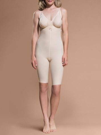 Marena Bodysuit Above Knee with Suspenders (FBS)