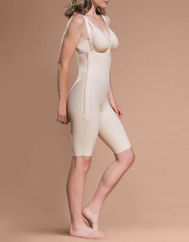 Marena Bodysuit Above Knee with Suspenders (FBS)