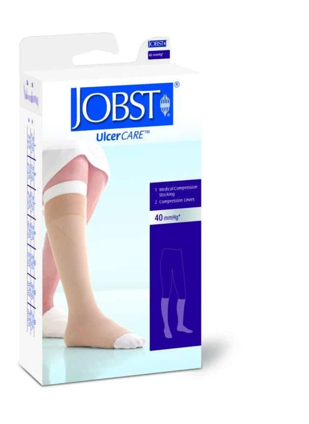 Jobst UlcerCare zippered sock for easier application