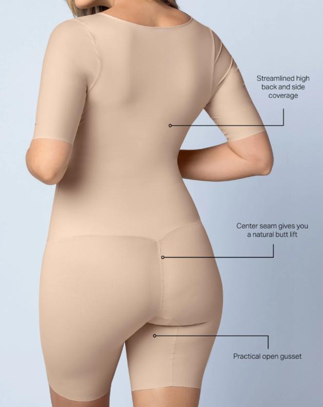 Leonisa Open Bust Body Shaper