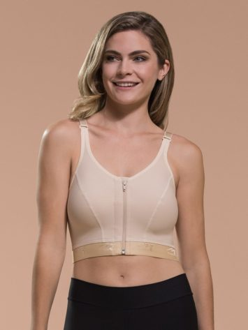 Marena FlexiFit'Ñ¢ High Coverage Zip Front Bra BNRZ