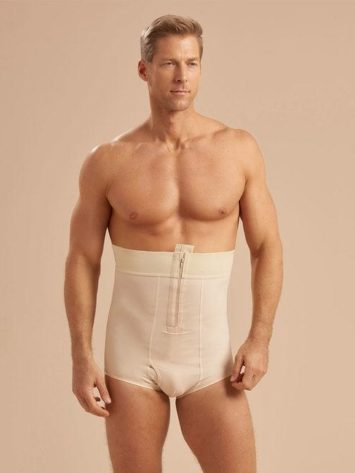 Marena Men's No Leg Compression Girdle