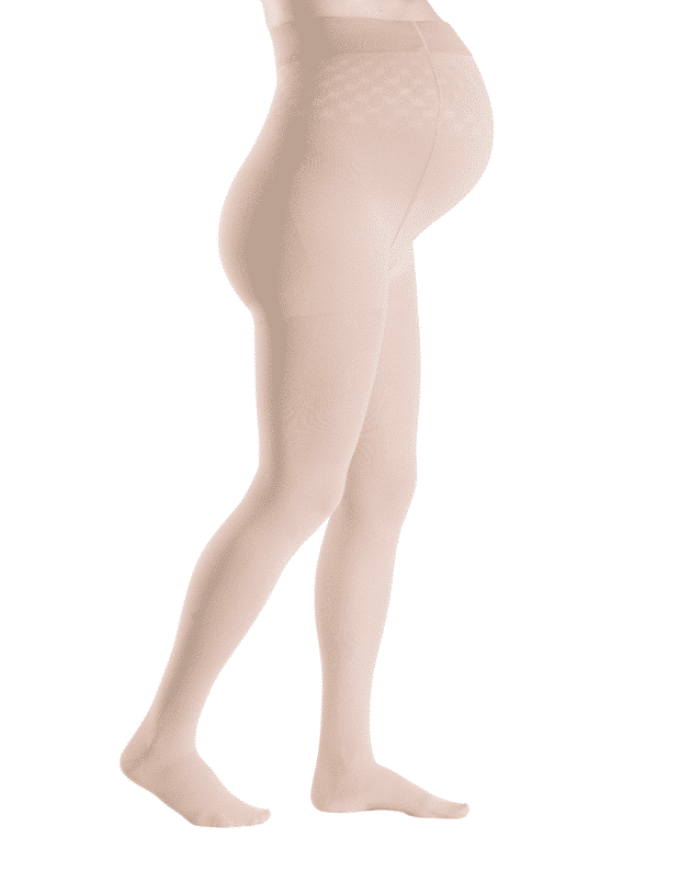 Sigvaris Delilah Sheer Maternity Pantyhose in natural or black