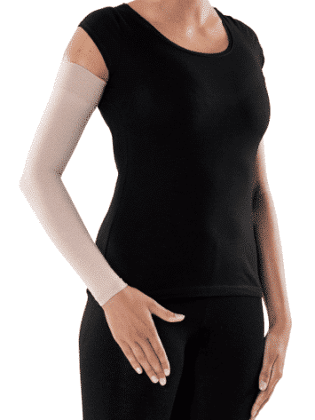 Sigvaris Advance Arm Sleeve is soft and comfortable for everyday wear