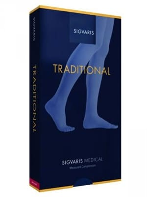 Sigvaris Traditional graduated compression socks are Swiss made