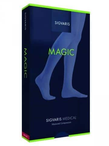 Sigvaris Magic Calf Length Socks are semi sheer and look great
