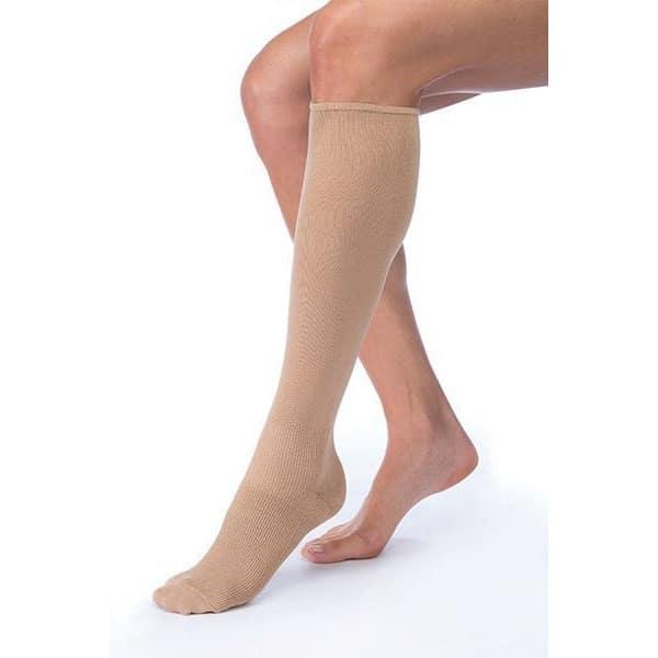 Soft inner sock for wearing under Jobst Farrow Wrap compression socks