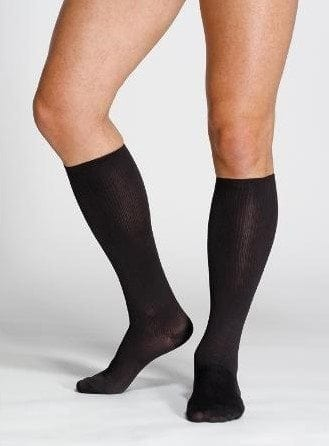 Sigvaris Traveno Unisex Travel Socks in black or beige