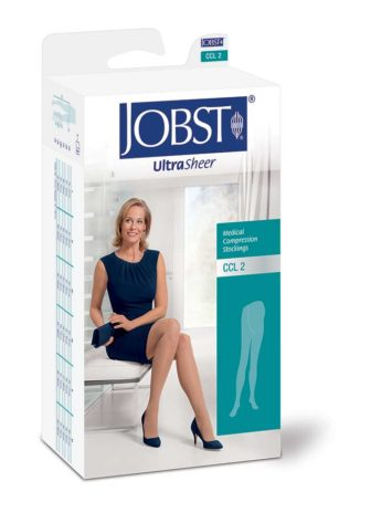 JOBST® Maternity Compression Pantyhose help support varicose veins during pregnancy