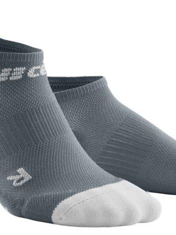 CEP Ultralight No Show Socks Grey