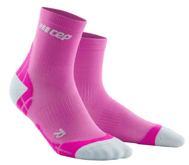 CEP Ultralight Short Socks Pink