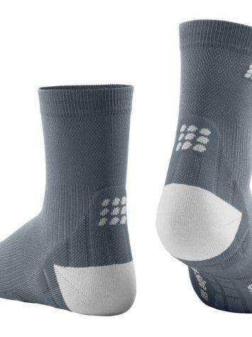 CEP Ultralight Short Socks Grey