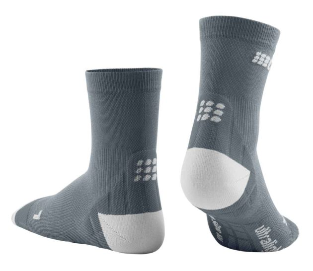CEP Ultralight Short Socks Grey