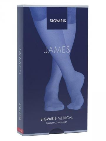 Sigvaris Knee High James Socks 23-32mmHg CII (762)