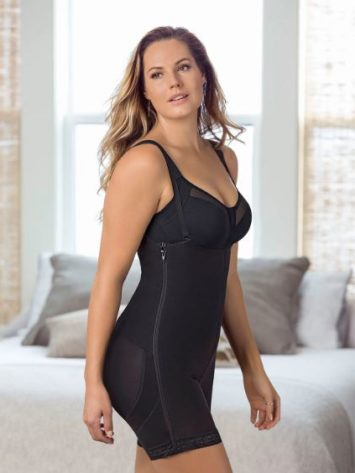 Leonisa Double Take Open Bust Firm Compression Post surgical Body Shaper front
