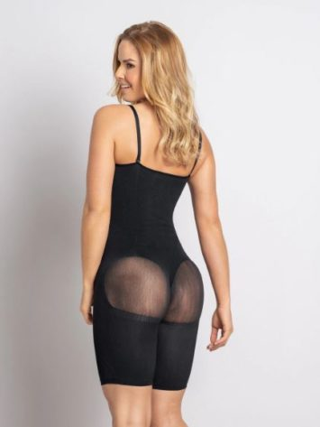 Leonisa Full Coverage Seamless Smoothing Compression Bodysuit body shaper Side