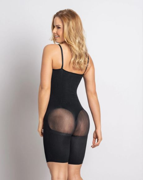 Leonisa Full Coverage Seamless Smoothing Compression Bodysuit Side