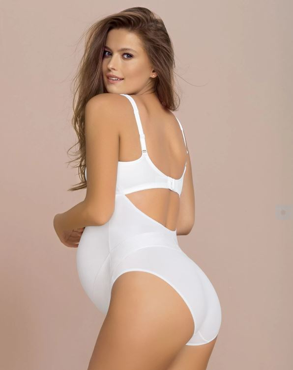 Leonisa Maternity High Waisted Support Panty Side