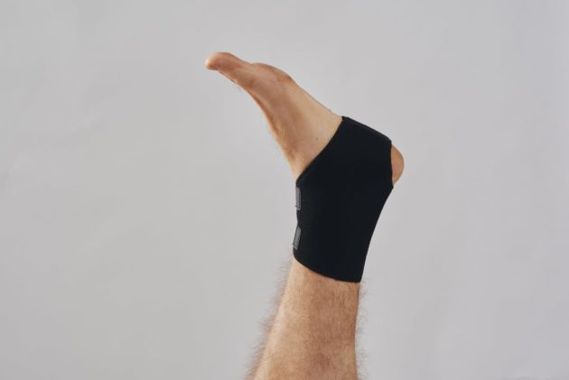 BodyAid unisex ankle support. Easily adjustable and ideal for rehabilitation of ankle injuries.