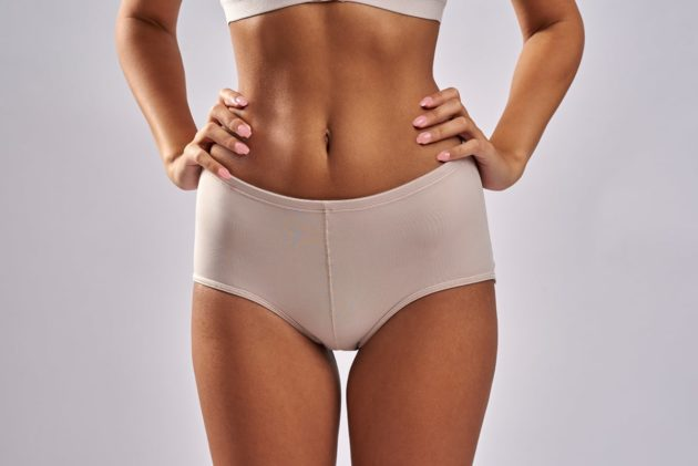 Instant Leonisa booty boosting padded beige panties. Comes with removable butt pads to instantly add volume and shape.
