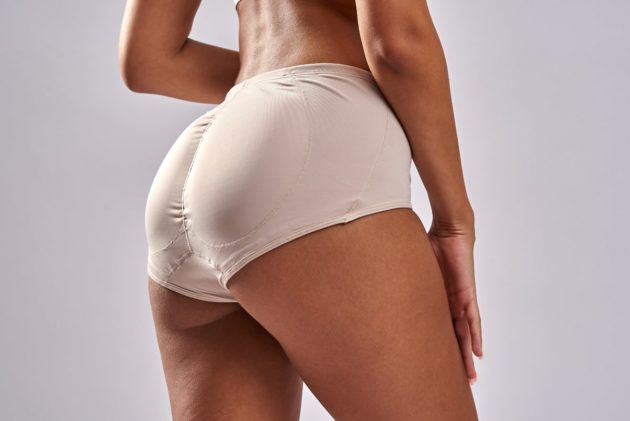 Leonisa instant Butt Lift booty boosting padded beige panties. Removable butt pads to further add volume and shape to your behind without surgery.