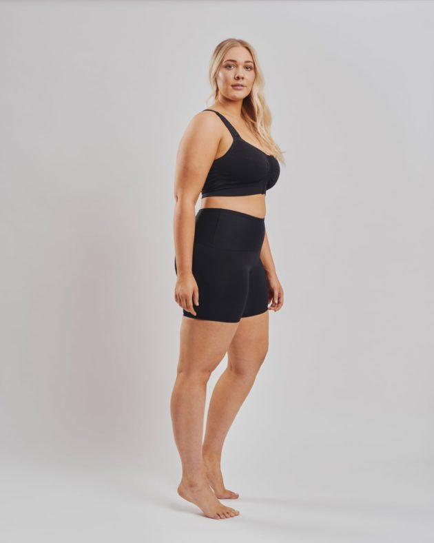 Leonisa regular waist shaper shorts with firm stomach compression. Suitable as shapewear