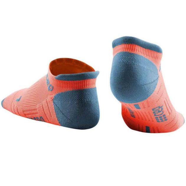 CEP Compression No Show Socks coral