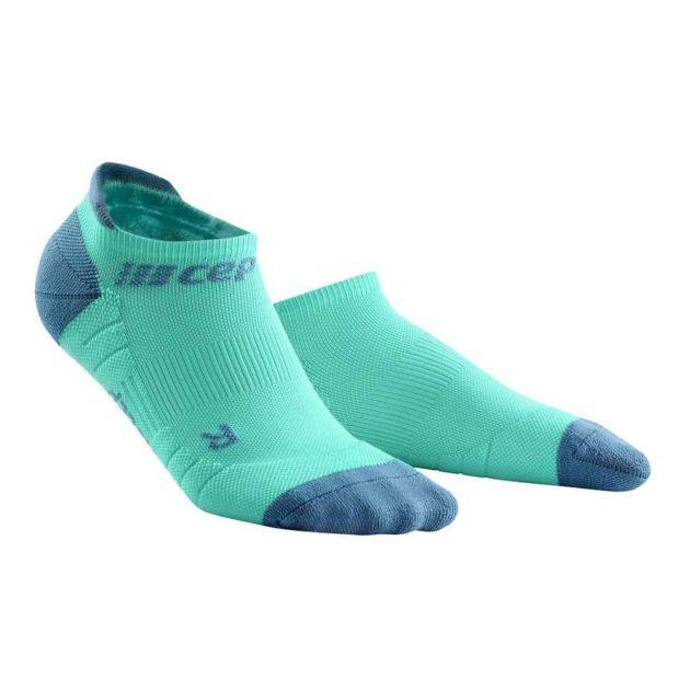 CEP Compression No Show Socks mint grey
