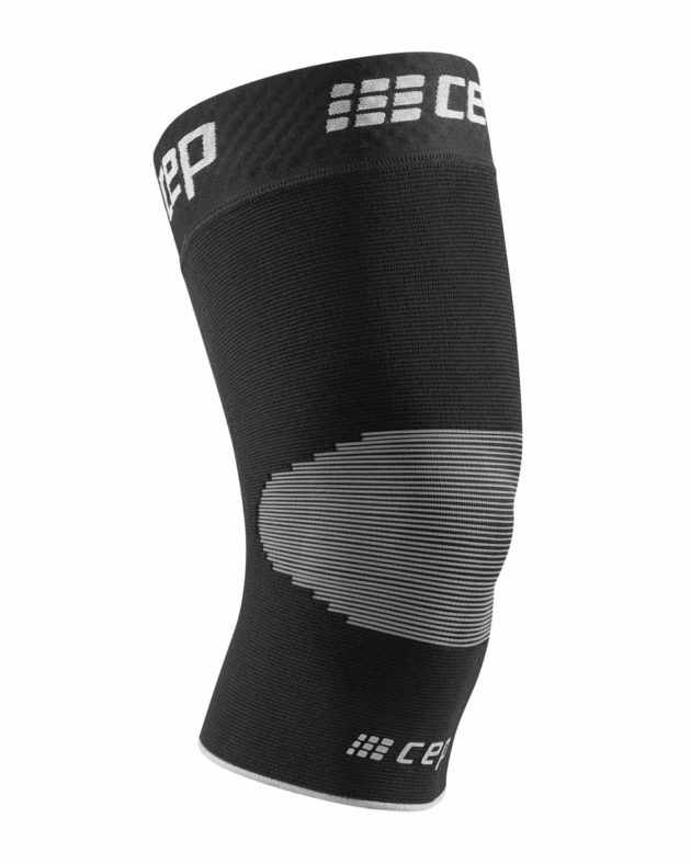 CEP Ortho Knee Sleeve Black Front view