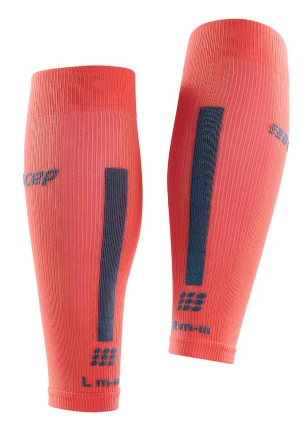 CEP Compression Calf Sleeves Coral