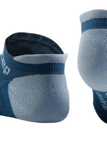 CEP Compression No Show Socks blue grey