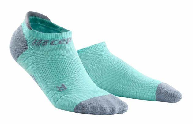CEP Compression No Show Socks ice grey