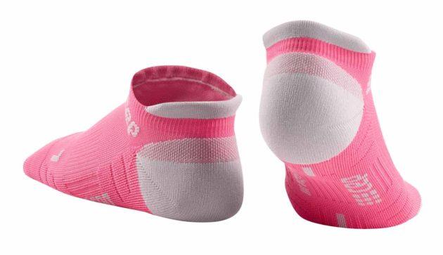 CEP Compression No Show Socks rose