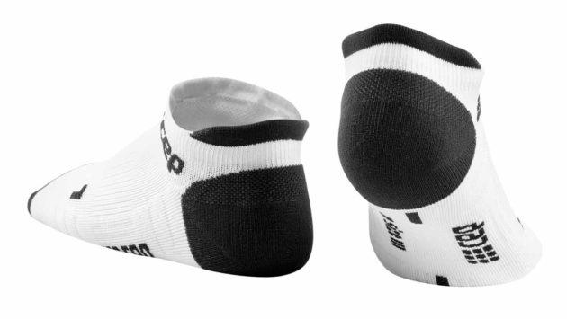 CEP Compression No Show Socks White