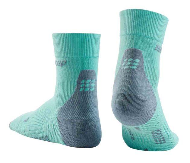 cep Compression Short Socks Ice Grey