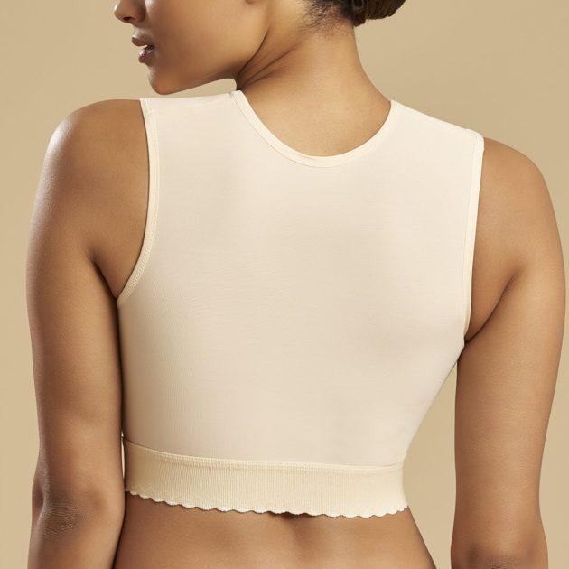 Marena sleeveless vest has full back coverage