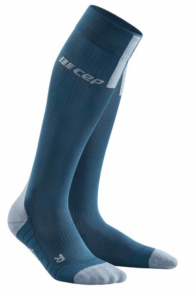 CEP Run Compression Socks blue greyck