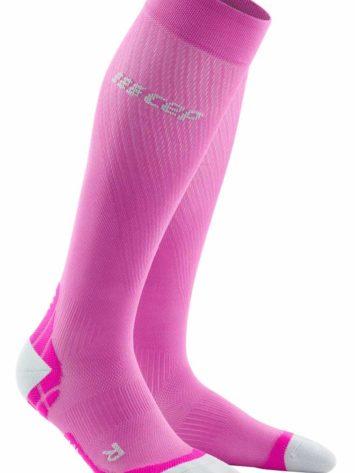 CEP Ultralight Run Socks Pink