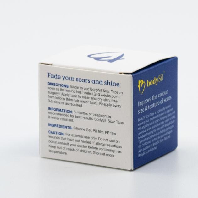 bodySil Silicone Scar Tape Best Silicone Scar Tape Australia. Silicone Scar Tape For Your Scar Instructions