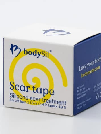 bodySil Silicone Scar Tape Best Silicone Scar Tape Australia. Silicone Scar Tape For Your Scar front